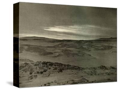 'A View North, Towards The Dying Sun, in March', c1908, (1909)-Unknown-Stretched Canvas Print