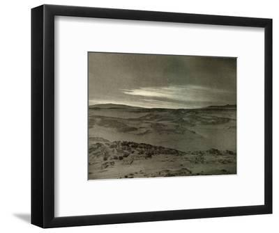 'A View North, Towards The Dying Sun, in March', c1908, (1909)-Unknown-Framed Photographic Print