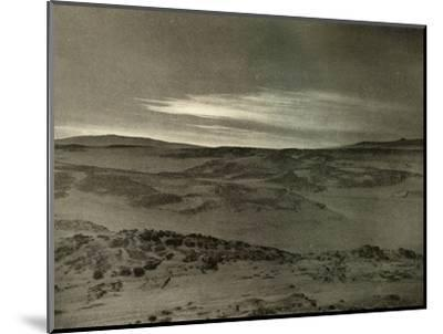 'A View North, Towards The Dying Sun, in March', c1908, (1909)-Unknown-Mounted Photographic Print