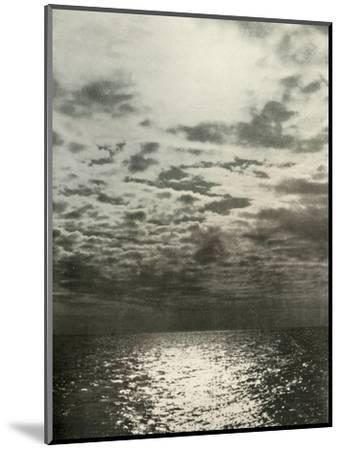 'A Cloud Effect Before The Sea Froze Over', c1908, (1909)-Unknown-Mounted Photographic Print