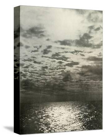 'A Cloud Effect Before The Sea Froze Over', c1908, (1909)-Unknown-Stretched Canvas Print