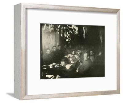 'The Midwinter's Day Feast', June 1908, (1909)-Unknown-Framed Photographic Print