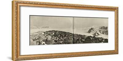 'The Cloudmaker - The View from the Summit of Mount Hope', c1908, (1909)-Unknown-Framed Photographic Print