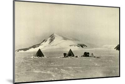 'The Camp Below The Cloudmaker.', c1908, (1909)-Unknown-Mounted Photographic Print