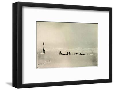 'Grisi Depot, Latitude 82° 45' South', c1908, (1909)-Unknown-Framed Photographic Print