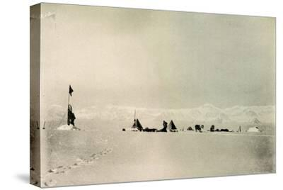 'Grisi Depot, Latitude 82° 45' South', c1908, (1909)-Unknown-Stretched Canvas Print