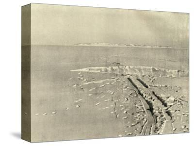 'A Typical Crevasse on Level Surface', c1908, (1909)-Unknown-Stretched Canvas Print