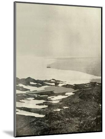 'The Ship off Pram Point, Just Before Leaving for the North', c1908, (1909)-Unknown-Mounted Photographic Print