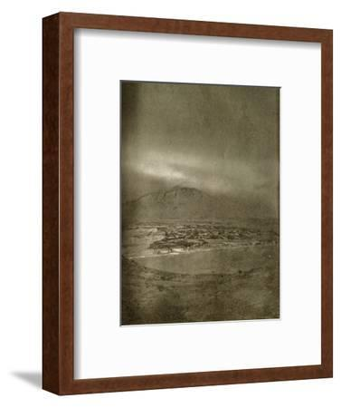 'A Photograph of the Aurora Australis', c1908, (1909)-Unknown-Framed Photographic Print