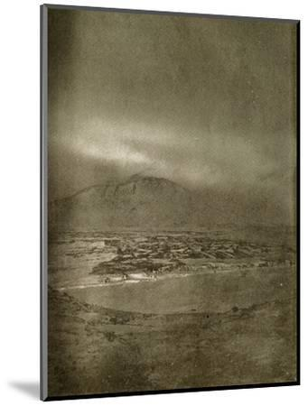 'A Photograph of the Aurora Australis', c1908, (1909)-Unknown-Mounted Photographic Print