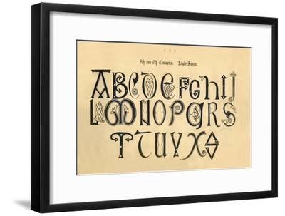 '8th and 9th Centuries. Anglo-Saxon', 1862-Unknown-Framed Giclee Print