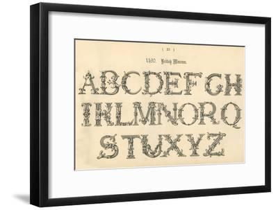 '1490. British Museum', 1862-Unknown-Framed Giclee Print