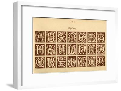 '16th Century', 1862-Unknown-Framed Giclee Print