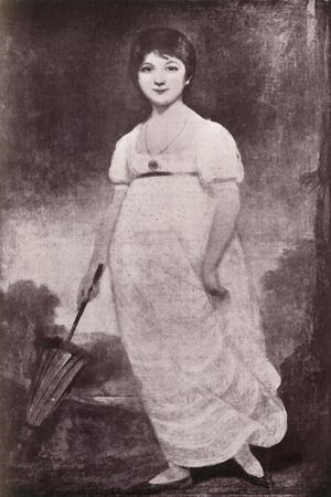 'Jane Austen', c1789, (1919)-Unknown-Framed Giclee Print