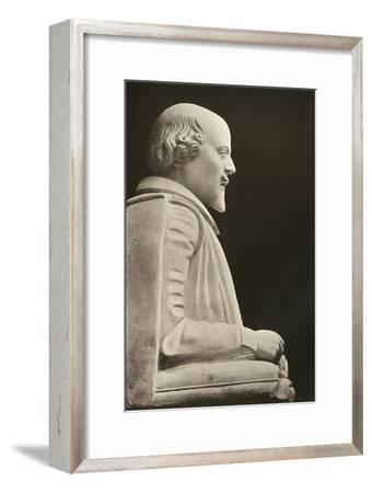 'William Shakespeare', (1909)-Unknown-Framed Giclee Print