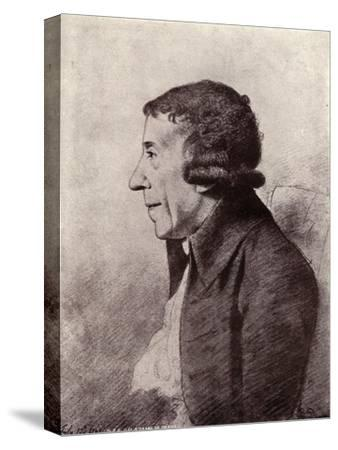 'Horace Walpole, Fourth Earl of Orford', (1919)-Unknown-Stretched Canvas Print