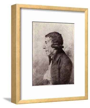 'Horace Walpole, Fourth Earl of Orford', (1919)-Unknown-Framed Giclee Print