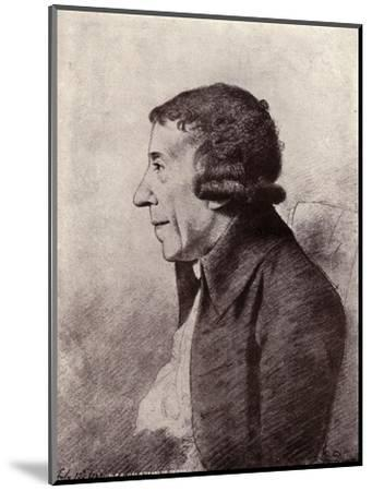 'Horace Walpole, Fourth Earl of Orford', (1919)-Unknown-Mounted Giclee Print