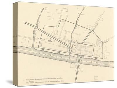 'Roman London', 1908-Unknown-Stretched Canvas Print