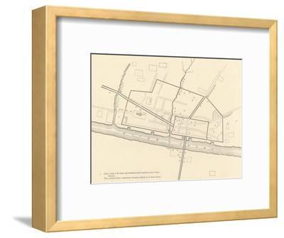 'Roman London', 1908-Unknown-Framed Giclee Print