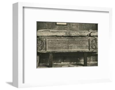 'Tomb of Valerius Amandinus (A Roman General)', 1908-Unknown-Framed Photographic Print