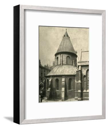'The Temple Church', 1908-Unknown-Framed Photographic Print