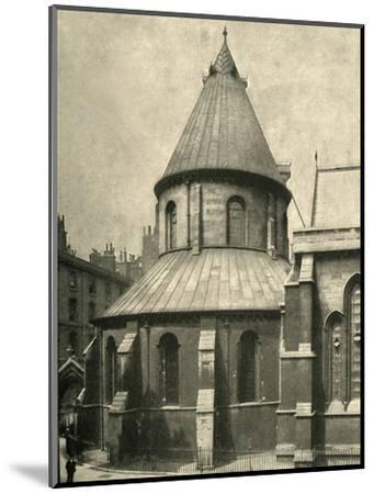 'The Temple Church', 1908-Unknown-Mounted Photographic Print