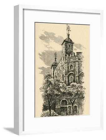 'The White Tower', 1908-Unknown-Framed Giclee Print