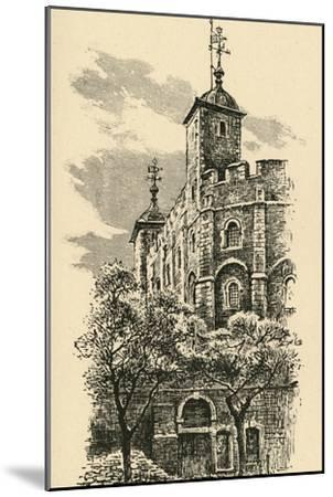 'The White Tower', 1908-Unknown-Mounted Giclee Print