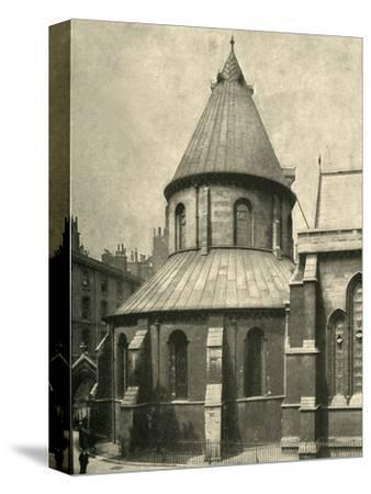 'The Temple Church', 1908-Unknown-Stretched Canvas Print