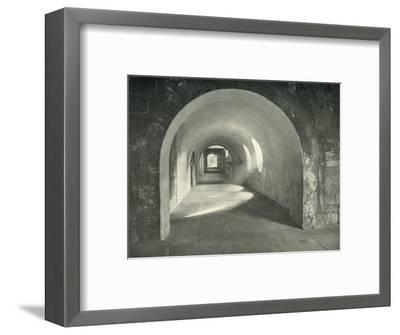 'Norman Arch in the Cloisters, Westminster Abbey, 1908-Unknown-Framed Photographic Print