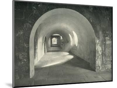 'Norman Arch in the Cloisters, Westminster Abbey, 1908-Unknown-Mounted Photographic Print