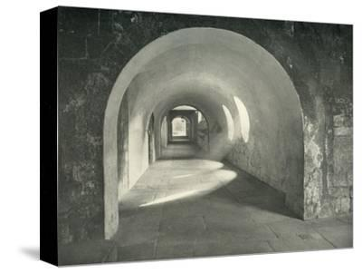 'Norman Arch in the Cloisters, Westminster Abbey, 1908-Unknown-Stretched Canvas Print