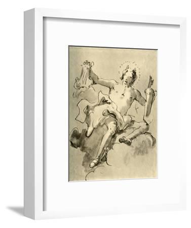 'Apollo', c1757, (1928)-Giovanni Battista Tiepolo-Framed Giclee Print
