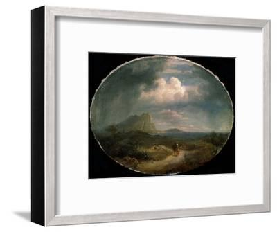 'Italian Landscape', early 19th century-Unknown-Framed Giclee Print