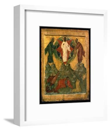 'The Transfiguration of Jesus', Russian icon, early 16th century-Unknown-Framed Giclee Print