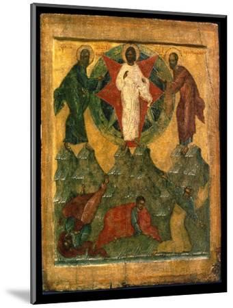 'The Transfiguration of Jesus', Russian icon, early 16th century-Unknown-Mounted Giclee Print
