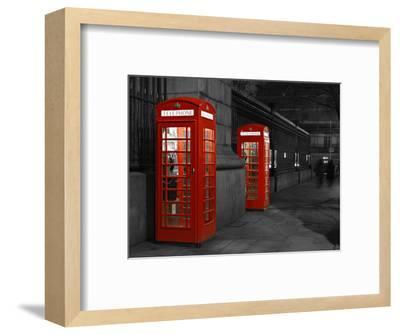 Phone to a Ghost?-Jan Lykke-Framed Photographic Print