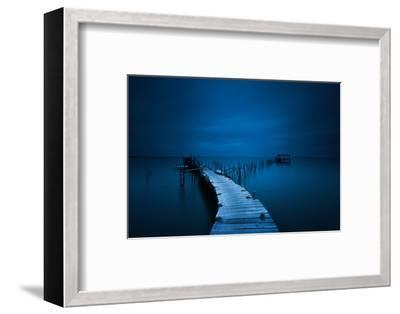 stilts-Miguel Moreno-Framed Photographic Print