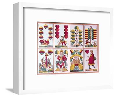 Austrian fortune-telling cards-Unknown-Framed Giclee Print