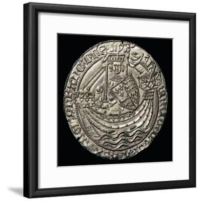 Gold noble of Henry VI, 15th century-Unknown-Framed Giclee Print