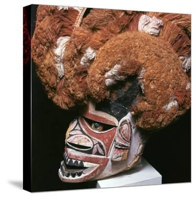 Melanesian mask from New Ireland-Unknown-Stretched Canvas Print