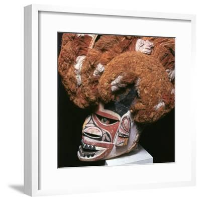 Melanesian mask from New Ireland-Unknown-Framed Giclee Print