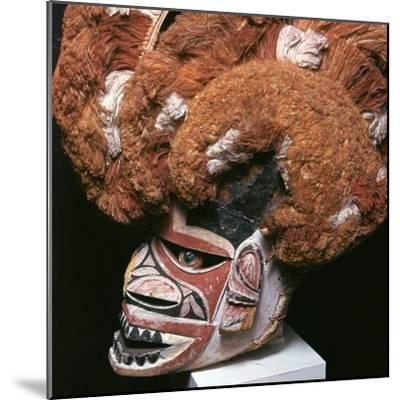 Melanesian mask from New Ireland-Unknown-Mounted Giclee Print