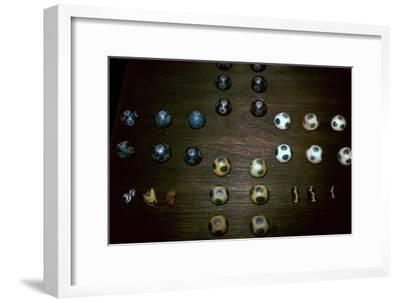 Celtic iron age gaming pieces-Unknown-Framed Giclee Print