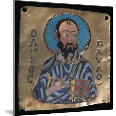 Miniature depiction of St Paul, 10th century-Unknown-Mounted Giclee Print