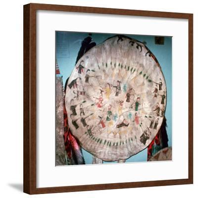 Dakota Native American War Shield-Unknown-Framed Giclee Print