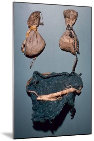 Winebago medicine bundles-Unknown-Mounted Giclee Print