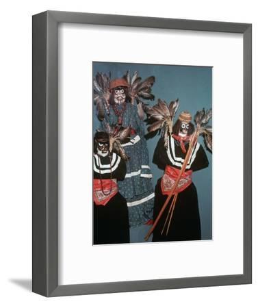 Native American Deguero funerary effigies-Unknown-Framed Giclee Print