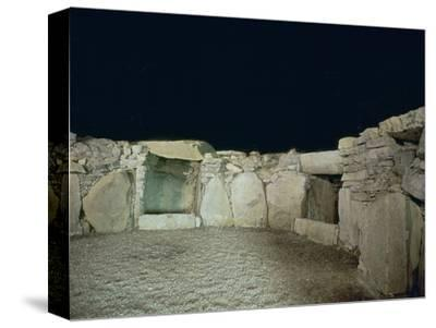 Interior of a passage grave, 26th century BC-Unknown-Stretched Canvas Print